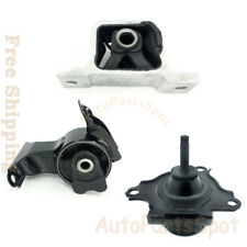 For 02-06 Acura RSX Transmission Engine Motor Mount Set For AT Trans G071