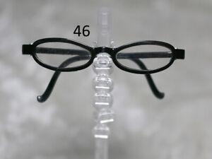 1/3 1/4 BJD SD 60cm 45 eye glasses eyeglasses Dollfie Black clear lens Style 46