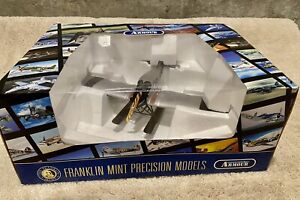 Very Rare franklin mint Armour Collection 1/48 F-13 Junkers Float Plane (used)