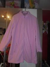 Fleeceweste rosa Gr. 48