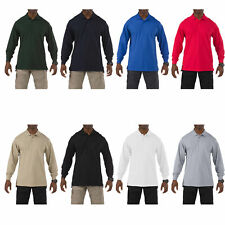 5.11 Tactical Men's Professional Long-Sleeve Polo, Style 42056, Sizes XS-3XL