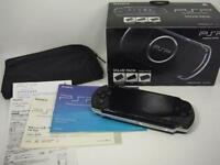 "PSP "" Playstation Portable "" Value Pack Piano Black PSPJ-30023 game F/S"