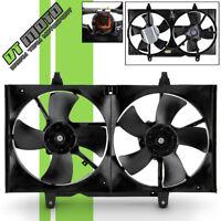 Radiator & Condenser Cooling Fan For 2002-2006 Altima 2004-2008 Maxima NI3115116