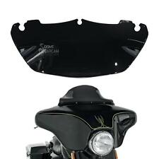 Black ABS Windscreen Windsheild For Harley Electra Street Glide Touring 14 15 16