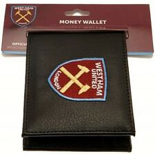 ae76899e952 Official Licensed Football West Ham United Embroidered Crest Wallet Black  7000