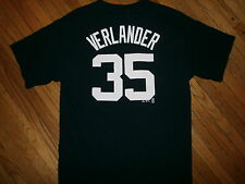 JUSTIN VERLANDER DETROIT TIGERS 35 JERSEY T SHIRT Licensed Majestic YOUTH XL