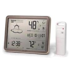 AcuRite 75077A3M Wireless Weather Station with Large Display, Temperature.