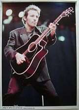 BRUCE SPRINGSTEEN Wembley Stadium, London, 1988 33 X 23 Inch Colour POSTER