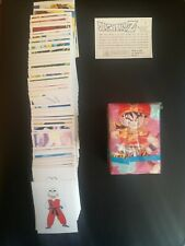 Dragon Ball Z - Panini - complete set of stickers