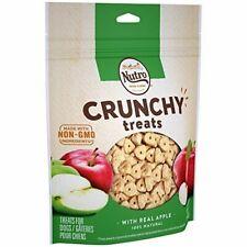 5 Bags Nutro Natural Crunchy Dog Treats Apple 16 Oz