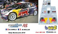 DECAL  1/43 -  FORD FIESTA R5  - CAMILLI  - Rally  MONTECARLO 2018