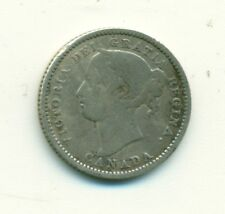 Canada 10 cents 1887 VG