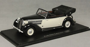 Neo Models Audi 920 Cabriolet in Black and White 1939 47085 1/43 NEW