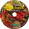 619 books on DVD, The Ultimate Cookbook Library, Recipes Cook Bake Food Desserts