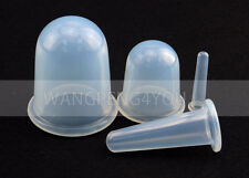 Chinese Silicone Anti Cellulite Cupping Massage Vacuum Body Facial Cups Therapy