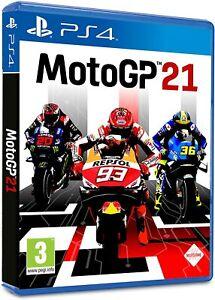 MOTO GP 21 PS4 VIDEOGIOCO UFFICIALE 2021 PLAYSTATION 4 ITALIANO MOTOGP