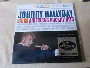 album cd story de JOHNNY HALLYDAY  sings america's rockin' hits neuf et emballé