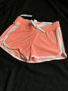 Justice Active Girls' Size 8 Color Orange Dolphin Shorts