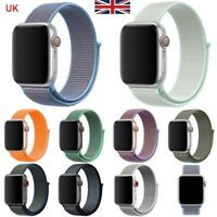 For Apple Watch iWatch Nylon Sport Woven Strap Band Series 6/5/4/3/2/1 38-42MM