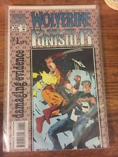 Wolverine and the Punisher Damaging Evidence #1 1993 NM Free Bag And Board