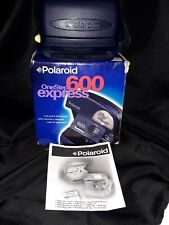 Una paso Polaroid 600 Express cámara