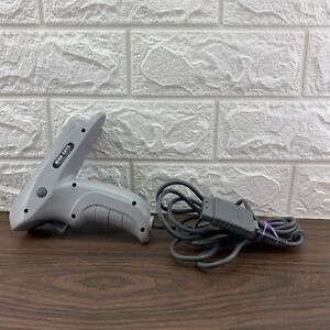 Mad Catz Fazor Light Gun For PS1 & Sega Saturn Playstation Cleaned & Tested