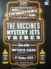 The Vaccines & Mystery Jets Live 2012 - Laminated A4 Poster