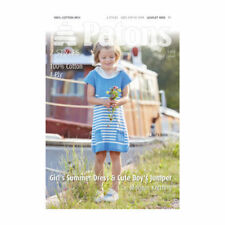 Girls 4 Ply Children's Clothing Crocheting & Knitting Patterns