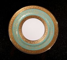 Stunning Antique Rosenthal Selb Plossberg Gold Encrusted Aida Bread Plate