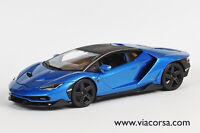 Lamborghini Centenario 1/18th Maisto blue *NEW*