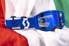Maschera Uomo Scott Prospect 6 Six Days Italy Blu MX Goggles Cross Enduro