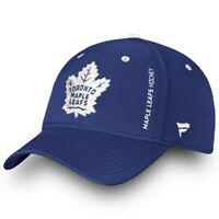 Toronto Maple Leafs Fanatics Branded Flex Hat - Blue Authentic Pro On-Ice Hat
