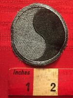 29th Infantry Division Army Black & Gray Patch 81K2