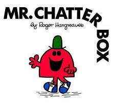 NEW (20)  MR CHATTERBOX ( BUY 5 GET 1 FREE book )  Little Miss Mr Men