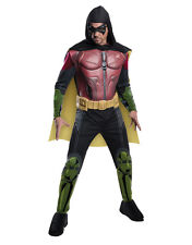 "Robin, Mens Arkham City Muscle Costume,XL,CHEST 44-46"",WAIST 36-40"",INSEAM 33"""