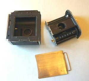 Film back cassette 6x6cm, for Kiev 88, Salut, Hasselblad