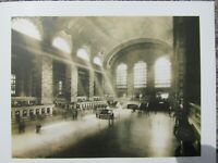 Vintage photo art print - Concourse of Grand central station - ready to frame