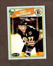 1988-89 OPC Box-bottom Bruins' Ray Bourque, Mint