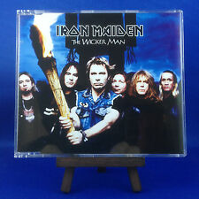 IRON MAIDEN: The Wicker Man (RARE OUT OF PRINT 2000 ENHANCED EUROPEAN CD SINGLE)