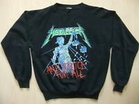 Metallica -  ... And Justice For All 1988 M Pullover T-Shirt - Original - Slayer