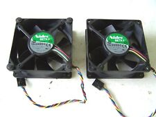 Computer Cooling Fans 12VDC 0.55A 92mm. Nidec BETA V TA350DC Case Fans lot of 2