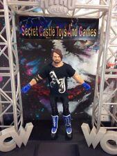 WWE Wrestling Basic Series 68.5 68 B AJ Styles Action Figure Smackdown w/ Shirt
