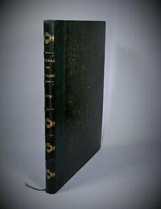 JOURNAL DES VOYAGES et des Aventures de Terre et de Mer 1879 Relié Gravures