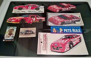 7 Bill Elliott Nascar Race Magnets Wincraft Budweiser Racing Coors light