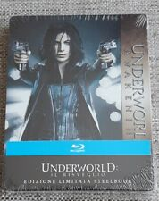 UNDERWORLD AWAKENING BLU RAY STEELBOOK - NEW SEALED - IMPORT - KATE BECKINSALE