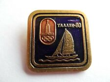Badge pin 1980 MOSCOW Olympic Games SPORT USSR CCCP