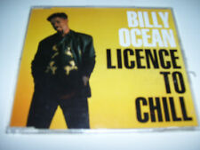 BILLY OCEAN - LICENCE TO CHILL 3tr. CD MAXI GERM. 1988