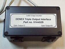 DENEX TRIPLE OUTPUT INTERFACE LASER COPY COUNTER , 51A4529