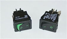 CARLINGSWITCH ROCKER SWITCH 621 SERIES GREEN LEGEND  621-1691909GXRS - 2 PIECES