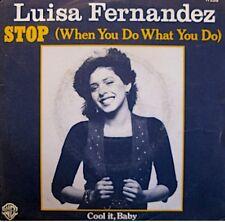 ++LUISA FERNANDEZ stop/cool it, baby SP 1978 WB RARE VG++
